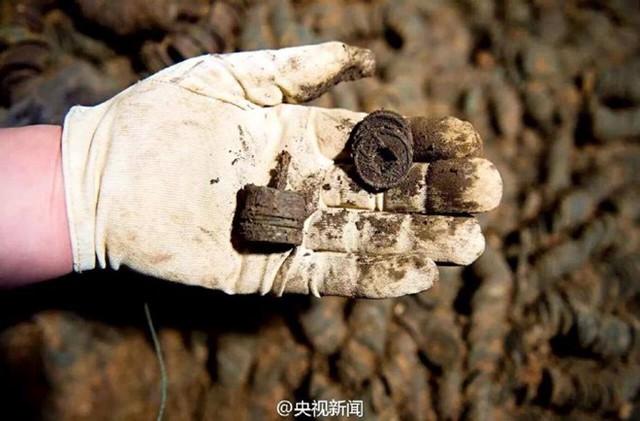 Số tiền cổ này có giá trị hơn 1 triệu nhân dân tệ (tương đương 157.000 USD). (Nguồn: CCTVNews)