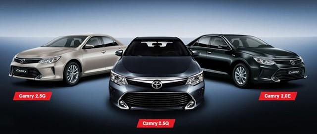 Giá xe Camry có thể sẽ được điều chỉnh vào tháng 10 tới. Ảnh minh họa