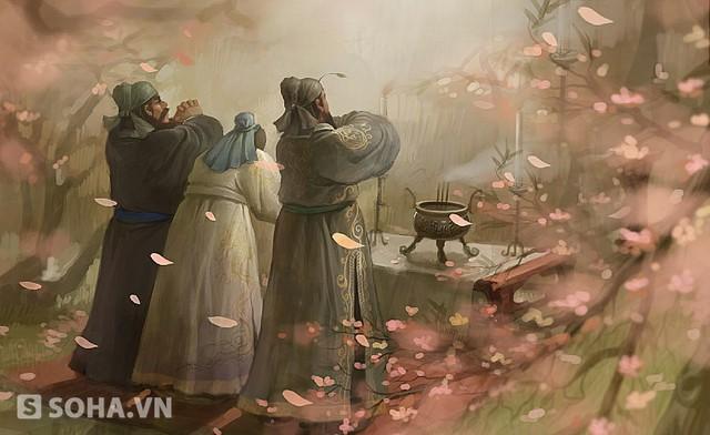 Quan Vũ chỉ quan tâm đến tình nghĩa đào viên với Lưu Bị mà không biết đối sách của Khổng Minh là tối ưu giúp Bị chắc chân đối lập với 2 đại quân phiệt còn lại.