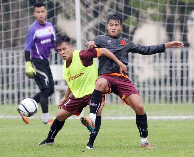 Theo cách lý giải của HLV Miura, tập luyện dưới điều kiện nhiệt độ thấp giúp các cầu thủ tích lũy thể lực tốt hơn. Ảnh: thethao24.tv