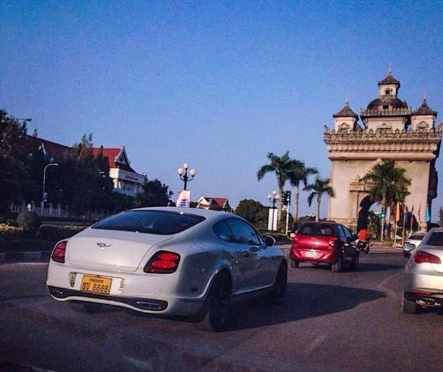 v8 Bentley Continental Supersports