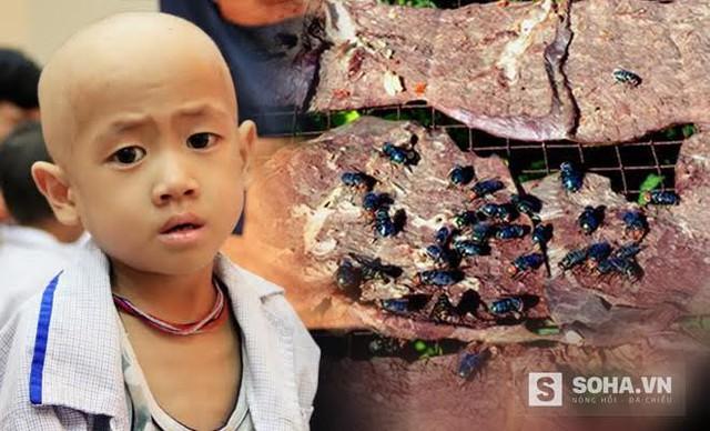 Khô bò làm bằng măng. Người mua sẽ không thể biết họ phải ăn sau ruồi nhặng. Thực phẩm bẩn đang ung thư hoá người Việt và đe dọa giống nòi Việt