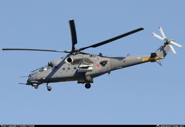 Trực thăng vũ trang Mi-35M.