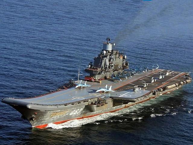 Tàu Đô đốc Kuznetsov, nguyên mẫu ăn theo của tàu Liêu Ninh, hiện là hàng không mẫu hạm duy nhất của Nga. Hai tàu sân bay này có cùng kích cỡ và vận tốc, cũng như cùng được thiết kế sàn tàu dạng đường dốc trượt.