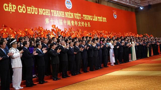 Hai nhà lãnh đạo cấp cao đến dự Gặp gỡ thanh niên Việt-Trung sáng nay