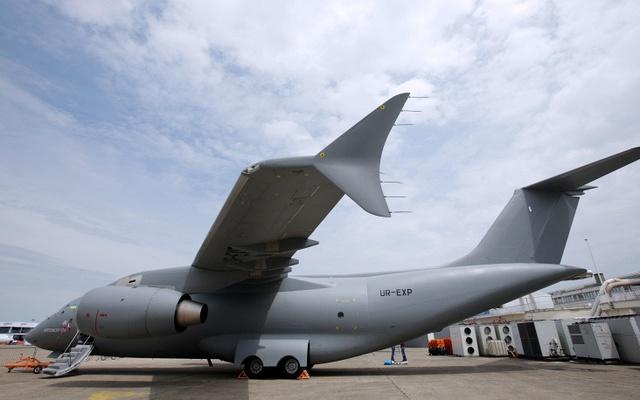 Máy bay vận tải AN-148 do Ukraine chế tạo.
