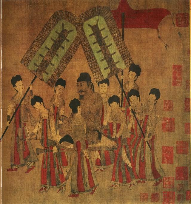 Phục trang của phụ nữ thời Đường có nhiều điểm gần giống trong phim Võ Tắc Thiên 2014.