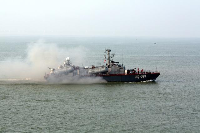 Tàu tên lửa tấn công nhanh Osa của Hải quân Việt Nam