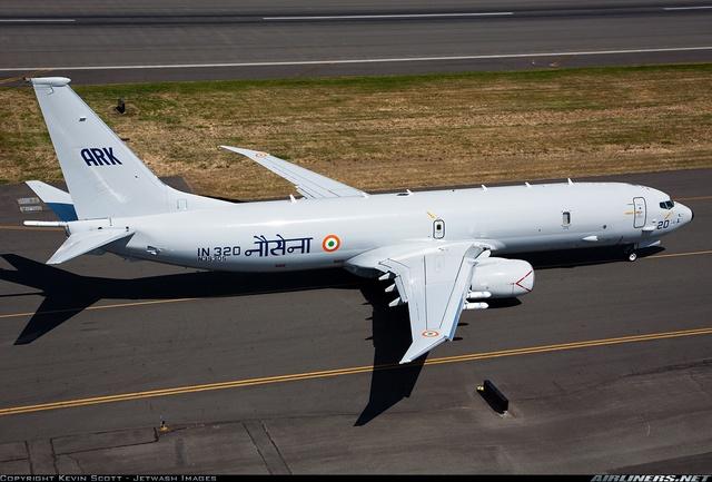 Ấn Độ tuy sở hữu nhiều vũ khí Nga nhưng cũng có không ít vũ khí phương Tây (Ảnh máy bay tuần tiễu hàng hải P-8I Neptune - phiên bản xuất khẩu của P-8A Poseidon)