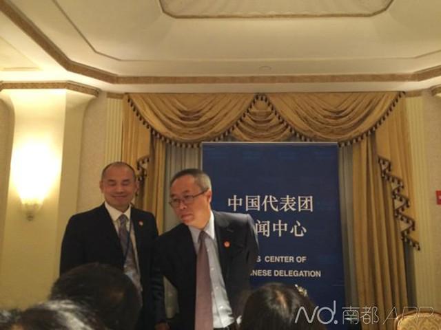 Trung Quốc ngay lập tức phản pháo bà Hillary Clinton trong một cuộc họp báo. Ảnh: Nam Đô.