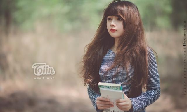 Hot girl ảnh thẻ còn có nickname là Hương mì gói.