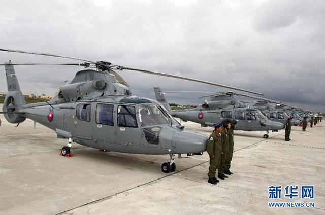 Trực thăng đa năng Z-9 do Công ty sản xuất máy bay Cáp Nhĩ Tân (HAMC) Trung Quốc chế tạo dựa trên loại trực thăng AS 365N Dauphin của công ty Aerospatiale Pháp.