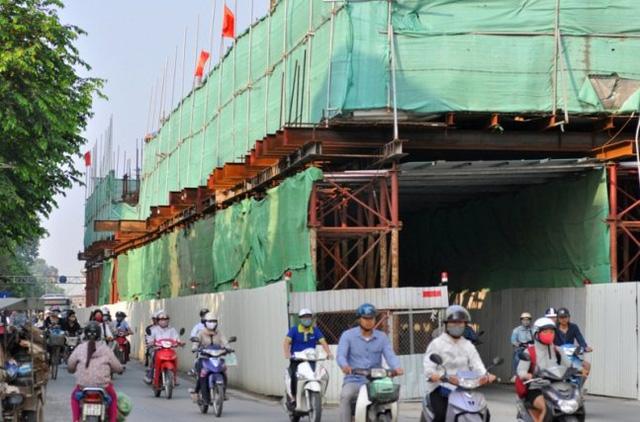 Phần đường được mở rộng thêm khoảng 3 mét.