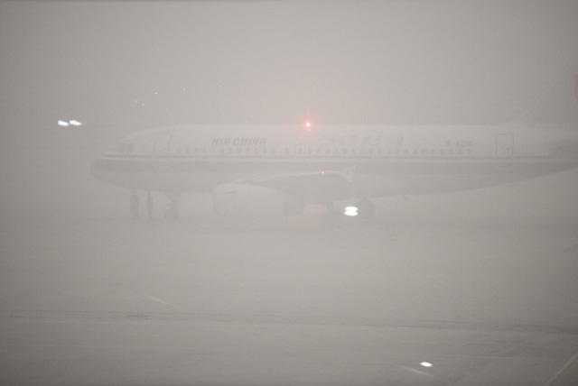 Các hãng hàng không Trung Quốc phải hủy hơn 30 chuyến bay từ Bắc Kinh và Thượng Hải.