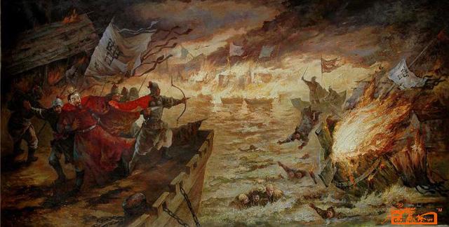 Hỏa thiêu Xích Bích - trận chiến đem lại cơ hội đổi đời cho Lưu Bị.