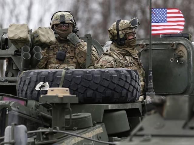 Quân đội Mỹ đóng tại Lithuania. Ảnh: Reuters
