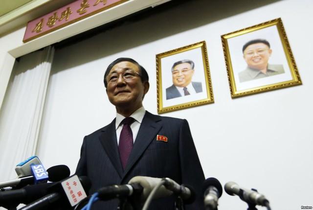 Đại sứ Triều Tiên tại Trung Quốc Ji Jae Ryong