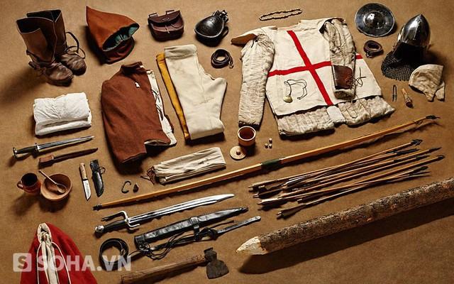 1415年阿金库尔战役弓箭手装备