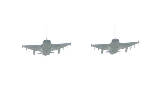 Hai chiến đấu cơ của Đức - Ảnh: V.V.Thành