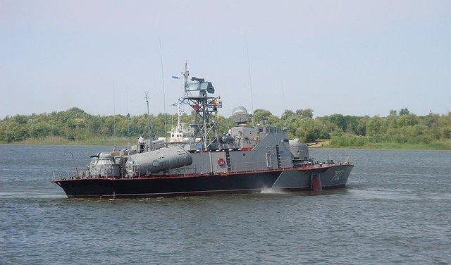 Tàu tên lửa tấn công nhanh Dự án 206MR Vikhr