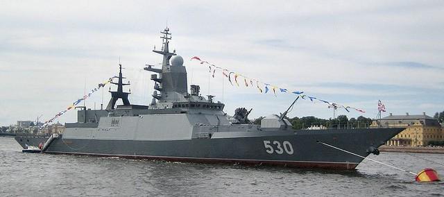 Khinh hạm Steregushchy (Số hiệu 530) - Dự án 20380