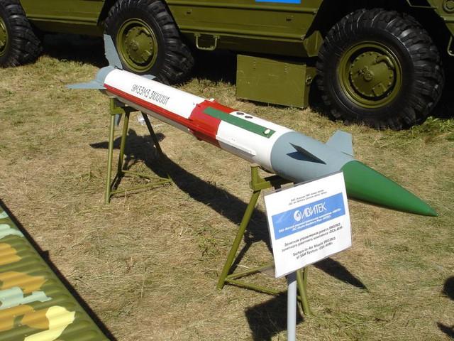 Đạn tên lửa 9M33M3 của hệ thống Osa-AKM