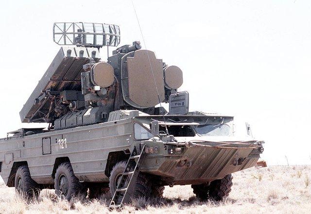 Hệ thống tên lửa phòng không 9K33 Osa (SA-8 Gecko)