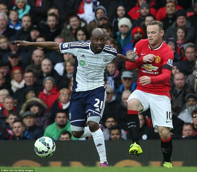Máu lửa như Rooney cũng đành chịu