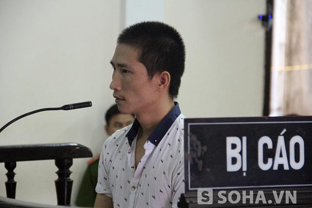 Bị cáo Lê Đức Đệ tại phiên tòa sáng 23/6.