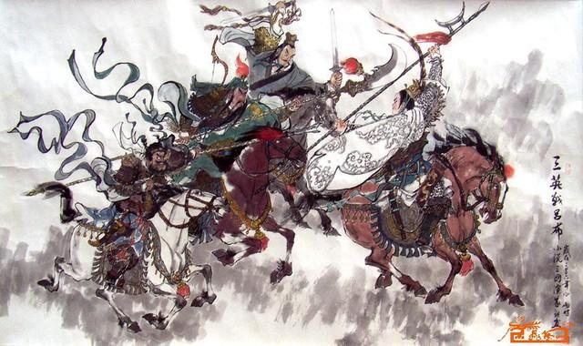 Quan - Trương đánh không thắng Lữ Bố, Lưu Bị tham chiến chỉ để giúp Bố chạy thoát?
