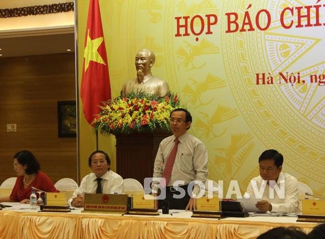 Bộ trưởng Nguyễn Văn Nên.