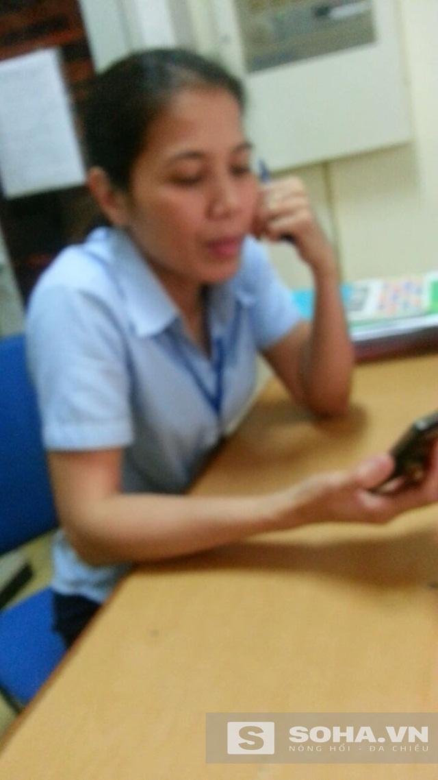 Bà Phan Thị Chung, quản lý tòa nhà 17T6 thản nhiên coi đó là chuyện bình thường và khi nào xảy ra hậu quả về người thì tính tiếp.