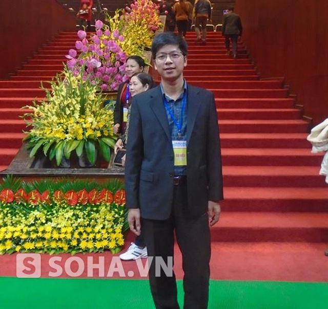 Anh Nguyễn Ngọc Quý, chủ sở hữu hiện tại của tác phẩm.