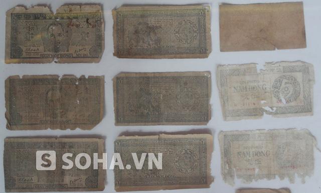Những đồng tiền đầu tiên của nước Việt Nam dân chủ cộng hòa.