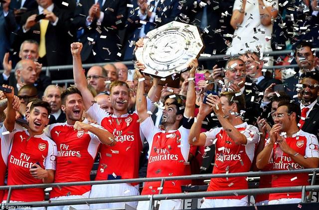 Arsenal sẽ phá vỡ lời nguyền Community Shield?