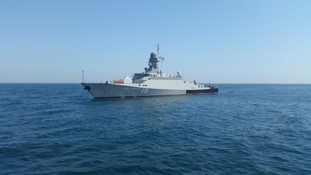 Tàu tên lửa cỡ nhỏ lớp Buyan-M.