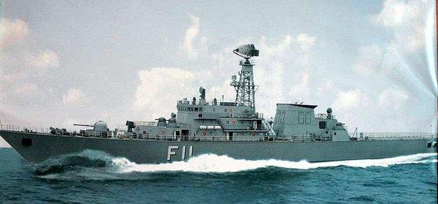 Tàu hộ vệ tên lửa F11 - Aung Zeya
