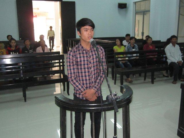 Bị cáo Ngô Quang Trọng.