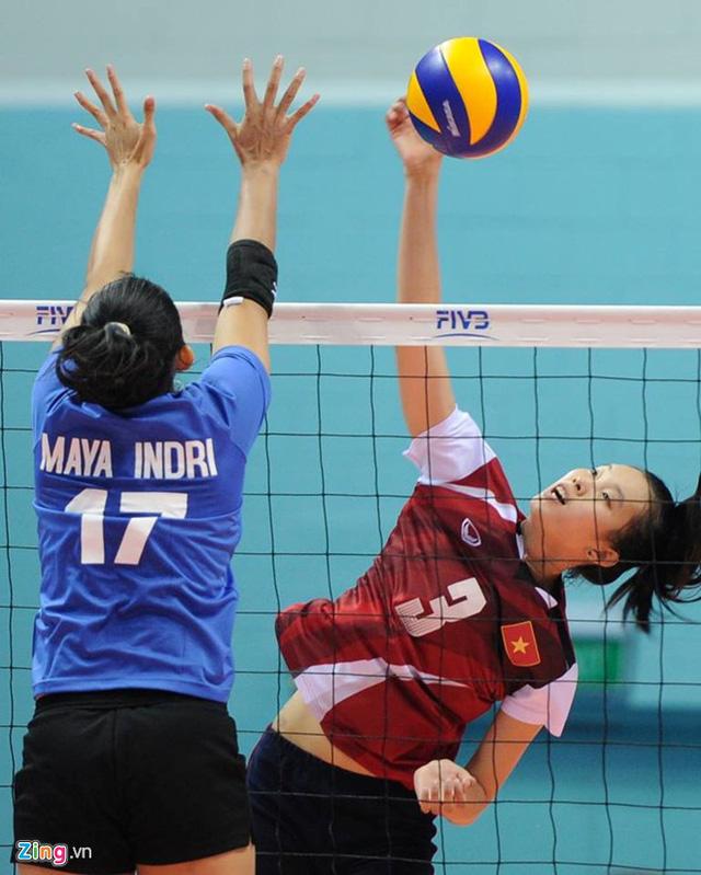 ĐT nữ Việt Nam đã chơi cực kỳ kiên trì (ảnh: Zing)