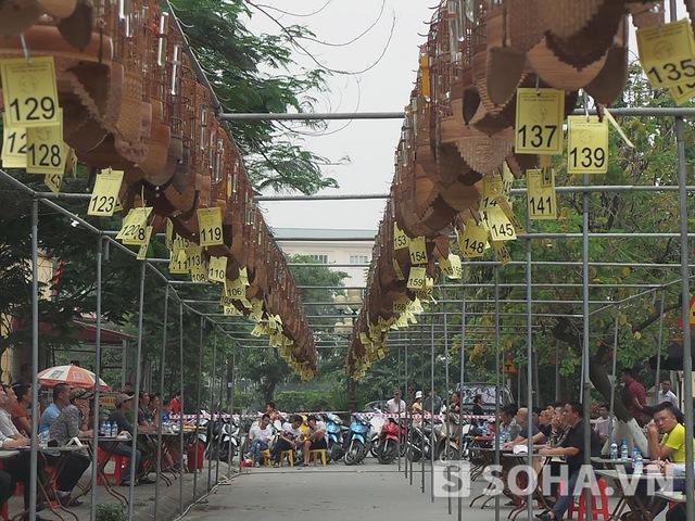 Cuộc thi được tổ chức vào sáng nay (26/4), tại Khi đô thị Đồng Tàu, Hoàng Mai, Hà Nội