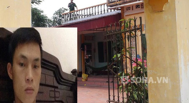 Đối tượng Nguyễn Xuân Chiến SN 1990, kẻ ra tay truy sát cả gia đình người yêu