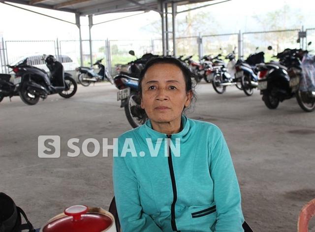 Chị Nguyễn Thị Niêu, người dân ở chung cư Làng Cá (Sơn Trà, Đà Nẵng).
