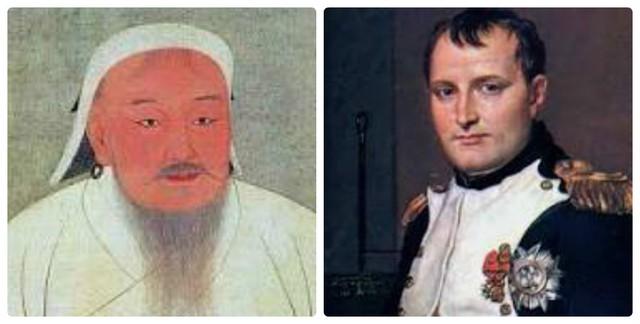 không giống Thành Cát tư Hãn( trái ) và Napoleon ( phải ), Hitler là kẻ xâm lược không được coi là người hùng