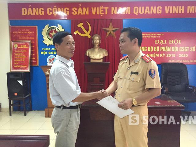 Ông Nguyễn Văn Sơn xúc động viết thư cảm ơn!