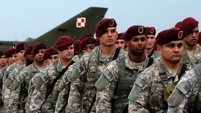 Quân đội Mỹ đóng tại Ba Lan. Ảnh: Reuters
