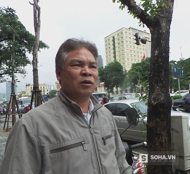 Ông Phạm Văn Dảo, tổ trưởng tổ dân phố 50.