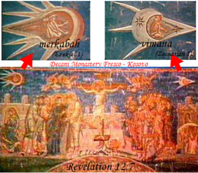 UFO cũng xuất hiện trong tôn giáo