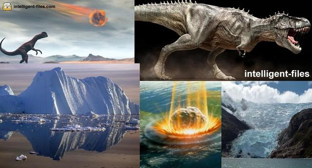 Khủng long tuyệt chủng do thiên thạch va vào trái đất.