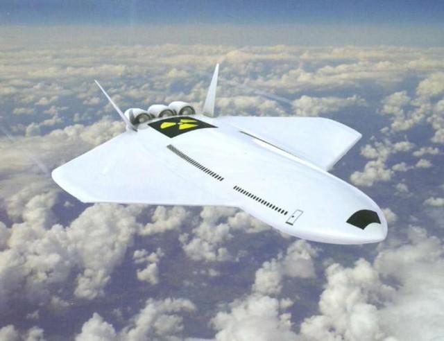 Máy bay lắp động cơ lượng tử.