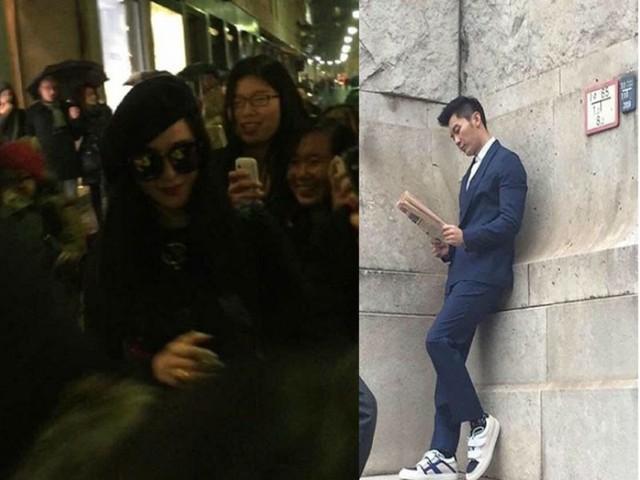 Phạm Băng Băng bị bắt gặp đi mua sắm tại Ý trong khi Lý Thần đang quay quảng cáo tại đây.